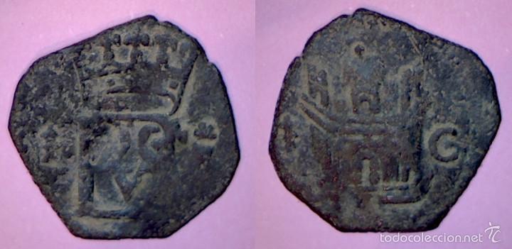 BLANCA DE FELIPE II. CECA: **CUENCA** (Numismática - Medievales - Castilla y León)