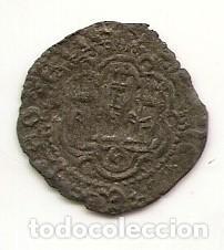 Monedas medievales: Juan II. Blanca de vellón. Sevilla - Foto 2 - 68453727