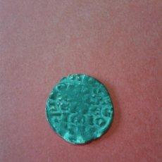 Monedas medievales: ALFONSO X. EL SABIO 1252 - 1284. DINERO DE LAS SEIS LÍNEAS. CRECIENTE. BELLO.. Lote 64826331