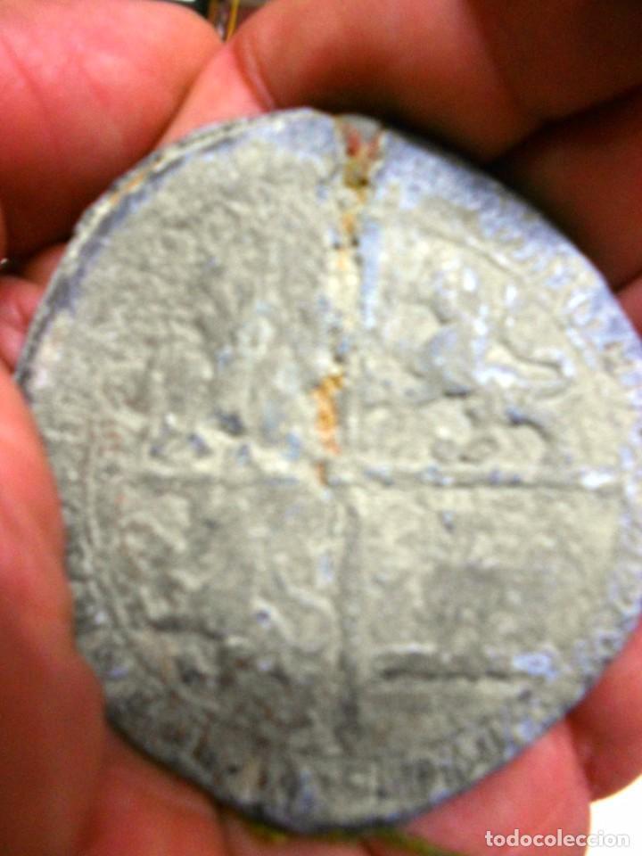 Monedas medievales: SELLO DE PLOMO REAL S. XV JUAN II DE CASTILLA 1408-1420. DIAMETRO 56 MM. - Foto 3 - 67954957