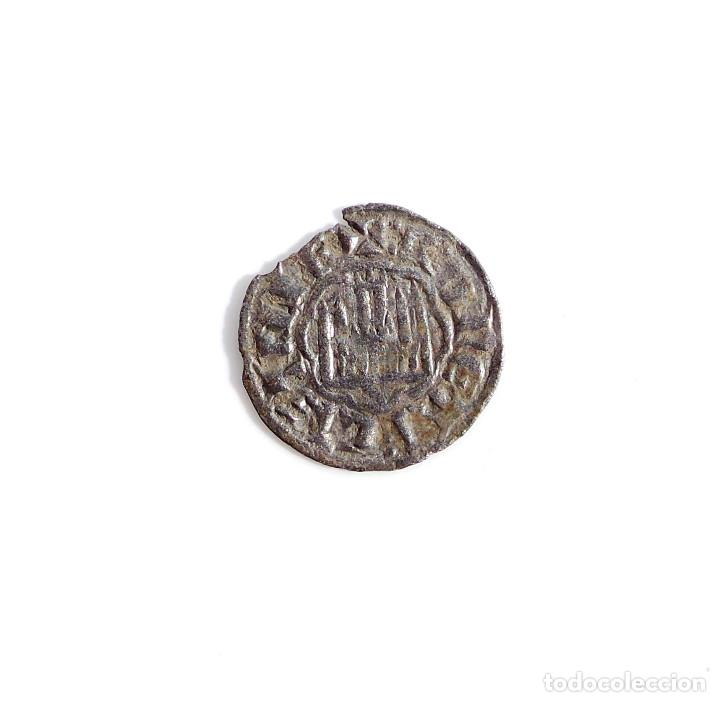 Monedas medievales: Alfonso X de Castilla Leon. pepion. Sevilla - Foto 2 - 68913573