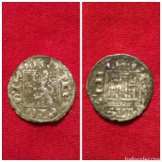 Monedas medievales: MONEDA ENRIQUE II NOVEN DE VELLON LEON L 1369-1379. Lote 72806667