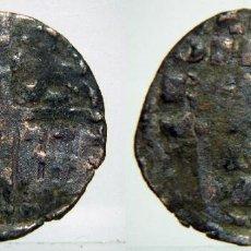 Monedas medievales: ALFONSO X EL SABIO DINERO DE SEIS LINEAS. Lote 72883855