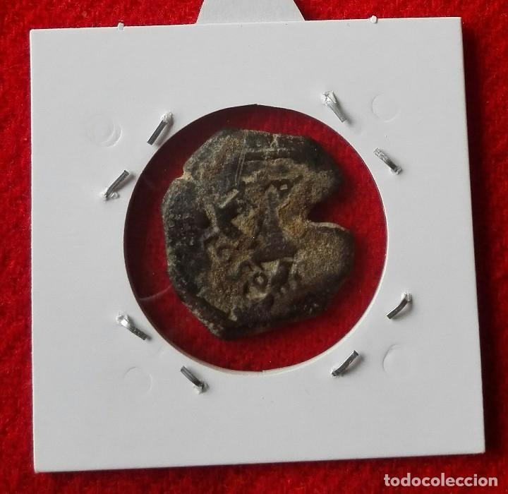 Monedas medievales: 8 MARAVEDIS DE FELIPE IV DEL AÑO 1650 - RESELLADOS - Foto 2 - 77874705
