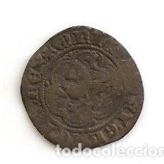 Monedas medievales: MUY RARA MONEDA MEDIAVAL BLANCA DE 2 CORNADOS (VELLÓN) ENRIQUE III 1390-1406 CECA BURGOS B. MBC. Lote 80658386
