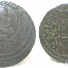 Monedas medievales: 50--FELIPE IV- 16 MARAVEDIS-1664--MBC+-CECA DE MADRID. Lote 83010464
