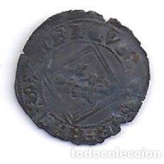 Monedas medievales: BONITA MONEDA MEDIEVAL LA BLANCA DEL ROMBO DE ENRIQUE IV DE CASTILLA 1454-1474. Lote 83185496