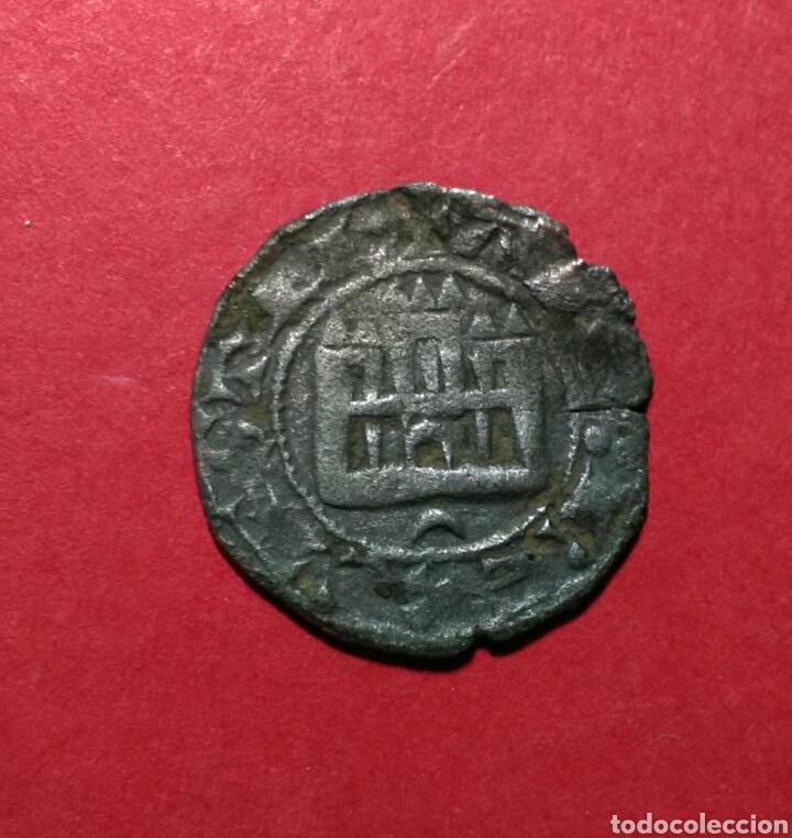 ALFONSO X. 1252 - 1284. MARAVEDI PRIETO. CRECIENTE. (Numismática - Medievales - Castilla y León)
