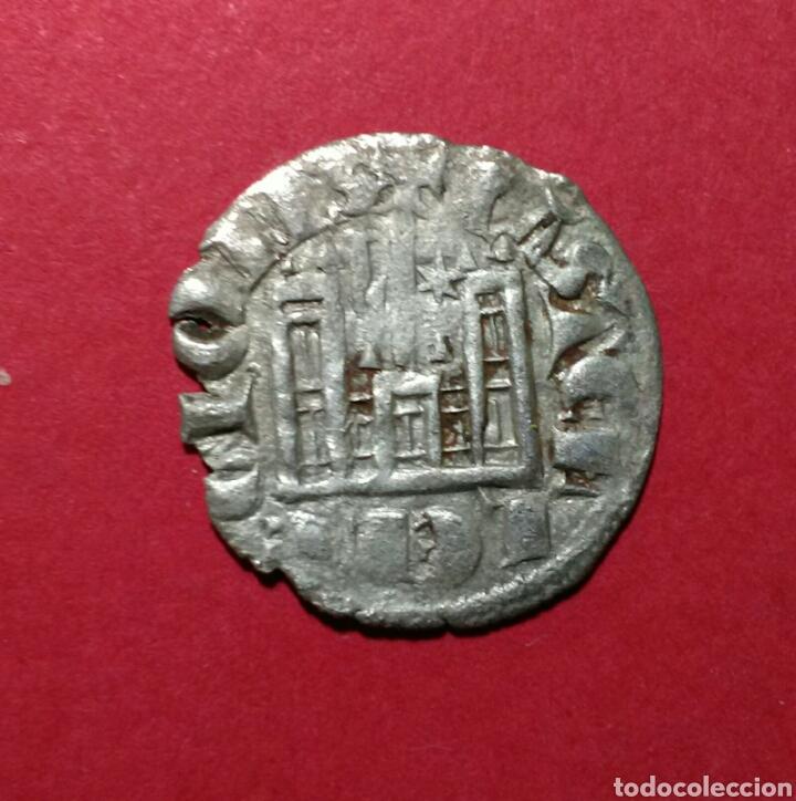 Monedas medievales: SANCHO IV. 1284 - 1295. CORNADO DE VELLON. CECA DE BURGOS. - Foto 2 - 88354002