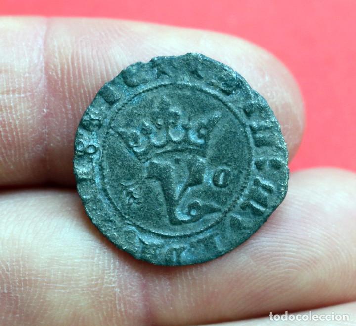 BLANCA AGNUS DEI JUAN I TOLEDO (Numismática - Medievales - Castilla y León)