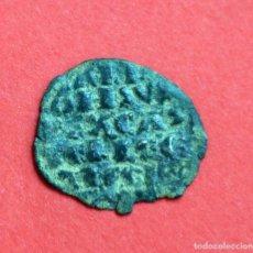 Monedas medievales: DINERO SEIS LINEAS ALFONSO X EL SABIO CECA FLOR?. Lote 89294756