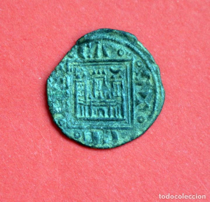 OBOLO ALFONSO X EL SABIO CECA CRECIENTE SOBRE TORRE (Numismática - Medievales - Castilla y León)