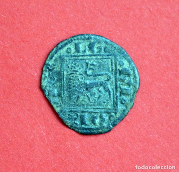 Monedas medievales: OBOLO ALFONSO X EL SABIO CECA CRECIENTE SOBRE TORRE - Foto 2 - 89380248
