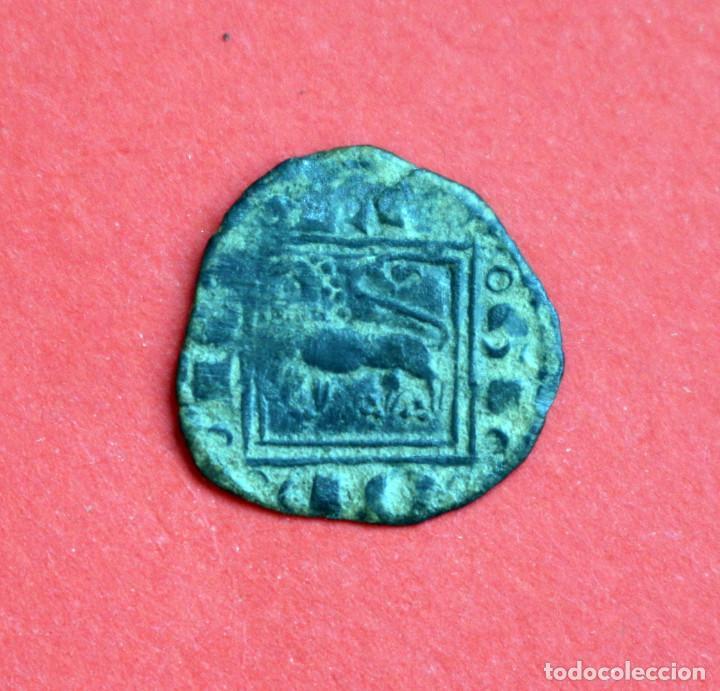 Monedas medievales: OBOLO ALFONSO X EL SABIO SIN CECA - Foto 2 - 89384000
