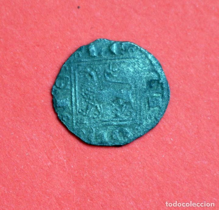 Monedas medievales: OBOLO ALFONSO X EL SABIO SIN CECA - Foto 2 - 89384332