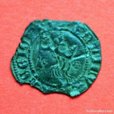 Monedas medievales: CRUZADO ENRIQUE II CECA FLORON. Lote 89397004