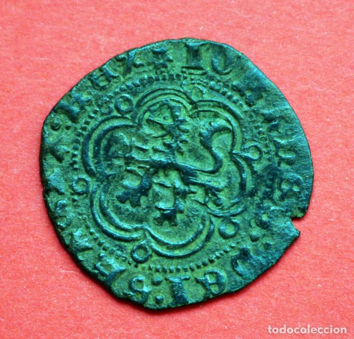 Monedas medievales: BLANCA JUAN II BURGOS - Foto 2 - 89454604