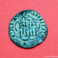 Monedas medievales: MEDIA BLANCA ENRIQUE III SEVILLA. Lote 89455436