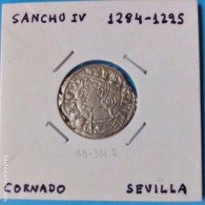 Monedas medievales: MONEDA MEDIEVAL SANCHO IV (1284-95) CORNADO VE RICO SEVILLA. Lote 93073483