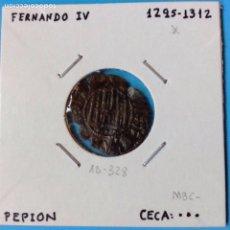 Monedas medievales: MONEDA MEDIEVAL FERNANDO IV (1295-1312) PEPION VE MARCA DE CECA 3 PUNTOS. Lote 93084703