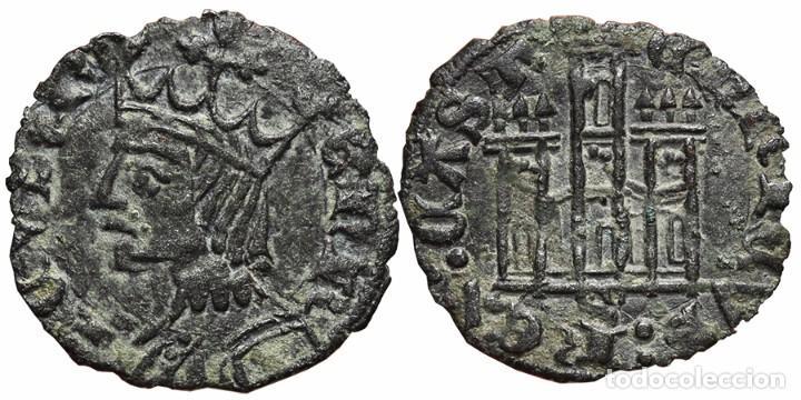 *** MUY BONITO CORNADO DE ENRIQUE II 1368-1379. SEVILLA. VARIANTE LEYENDA *** (Numismática - Medievales - Castilla y León)