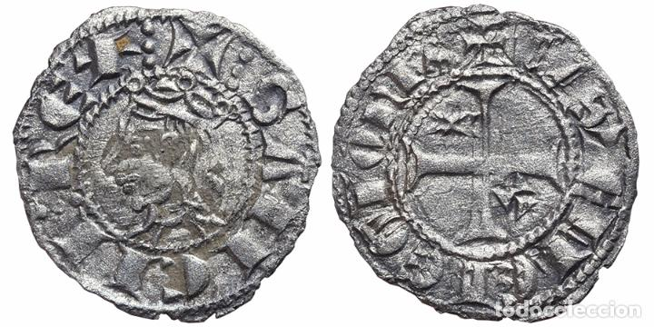 *** MAGNÍFICO SEISEN DE SANCHO IV, 1284-1295 TOLEDO -T- A.BURGOS 314 *** (Numismática - Medievales - Castilla y León)