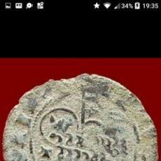Monedas medievales: BLANCA DE VELLON DEL CORDERO AGNUS DEI JUAN I TOLEDO 22MM 1,8GR. Lote 94816072