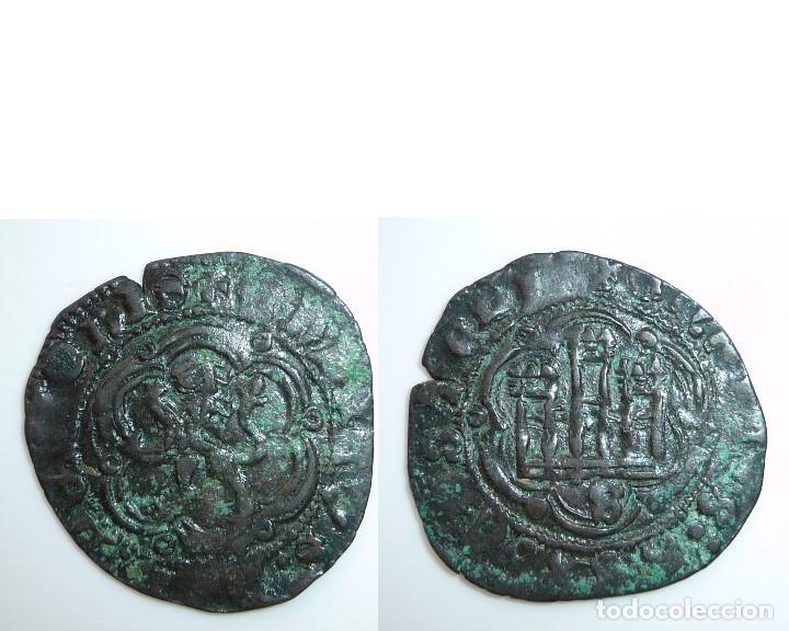 CASTILLA Y LEÓN. BLANCA DE ENRIQUE III. CECA: ****SEVILLA****MBC- (Numismática - Medievales - Castilla y León)