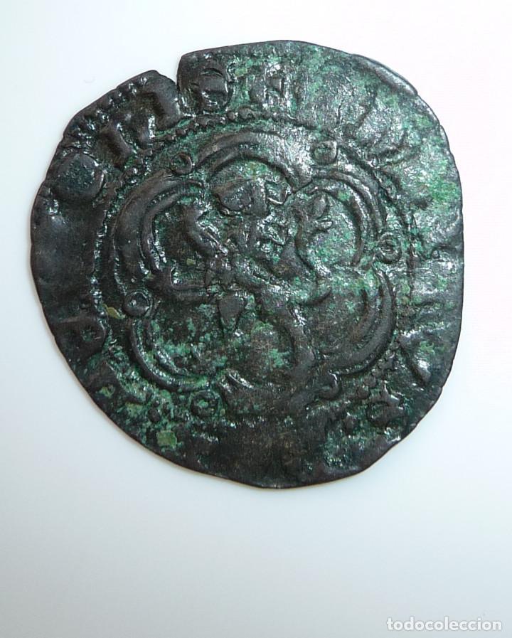 Monedas medievales: CASTILLA Y LEÓN. BLANCA DE ENRIQUE III. CECA: ****SEVILLA****MBC- - Foto 2 - 96206715