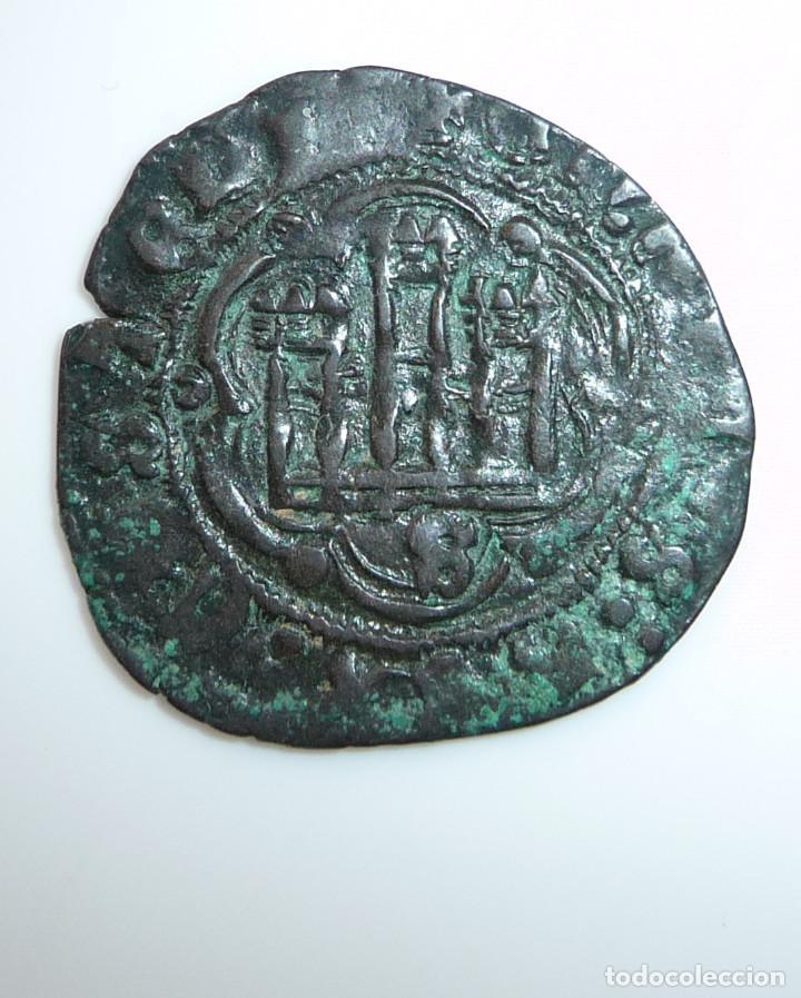 Monedas medievales: CASTILLA Y LEÓN. BLANCA DE ENRIQUE III. CECA: ****SEVILLA****MBC- - Foto 3 - 96206715