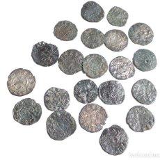 Monedas medievales: LOTE DE DINEROS - ALFONSO I. EL BATALLADOR. 1104-1134. DINERO. Lote 96823855