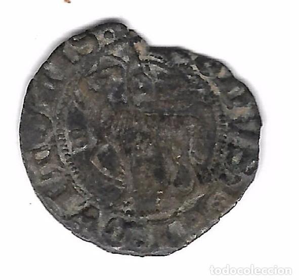 MONEDA. JUAN I. SEVILLA. BLANCA DEL AGNUS DEI (Numismática - Medievales - Castilla y León)