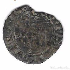 Monedas medievales: MONEDA. JUAN I. SEVILLA. BLANCA DEL AGNUS DEI. Lote 99708363