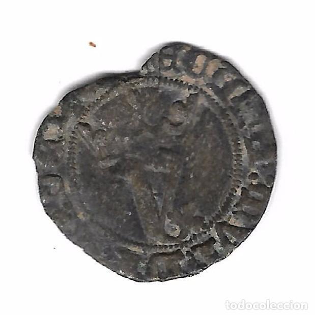 Monedas medievales: MONEDA. JUAN I. SEVILLA. BLANCA DEL AGNUS DEI - Foto 2 - 99708363