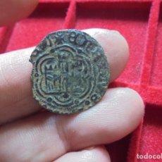 Monedas medievales: BONITA BLANCA DE ENRIQUE III CECA CORUÑA. Lote 102186379