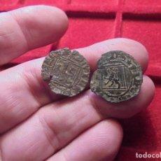 Monedas medievales: LOTE DE DOS BLANCAS DEL ROMBO, UNA ESCASA DE SEGOVIA . Lote 103539691