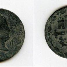 8 MARAVEDIS FERNANDO VII LA JUBIA 1827