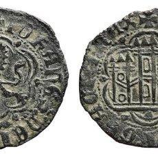 Monedas medievales: *** BONITA Y ESCASA BLANCA DE JUAN II 1406-1454.CECA: CORUÑA (VENERA) A.BURGOS-626 ***. Lote 107257003