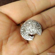 Monedas medievales: MONEDA MEDIEVAL CASTILLA MEDIO REAL 1/2 PLATA ENRIQUE IV MBC- CERTIFICADO SUBASTAS. Lote 108888595