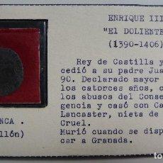 Monedas medievales: BLANCA DE VELLÓN ENRIQUE III. EL DOLIENTE. 1390-1406. Lote 115447891