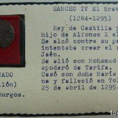 Monedas medievales: CORNADO. VELLÓN. CECA DE BURGOS. SANCHO VI EL BRAVO. 1284-1295. Lote 115449507