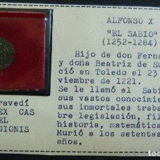 Monedas medievales: MARAVEDÍ. ALFONSO X EL SABIO. Lote 115473219