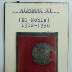 Monedas medievales: VELLÓN ALFONSO XI EL NOBLE. Lote 115473651