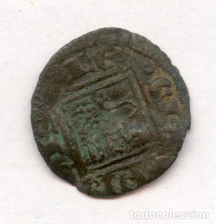 Monedas medievales: OBOLO O MEAJA DE ALFONSO X - Foto 2 - 116604615
