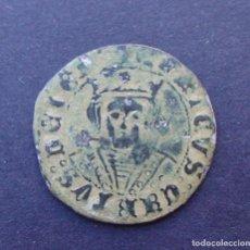 Monedas medievales: CUARTILLO DE REAL ENRIQUE IV 1454-1474 //VELLON// JAEN EXCELENTE EBC. Lote 121212467