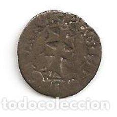 Monedas medievales: FERNANDO V 1452-1516 MONEDA DINERO (VELLÓN). N.D. CECA ARAGON S 0,80GR-16MM. MBC-. Lote 121788175