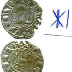 Monedas medievales: FERNANDO IV, PEPIÒN CECA CORUÑA (RARA). Lote 122370023