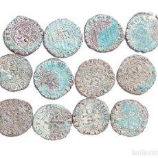 Monedas medievales: LOTE DE MONEDAS DE CASTILLA Y LEÓN. BLANCAS DE ENRIQUE III. MUY BUEN ESTADO. Lote 122558195