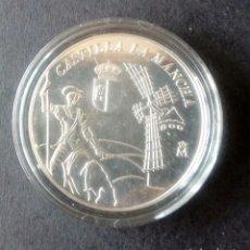 Monedas medievales: MONEDA CONMEMORATIVOS PLATA CASTILLA LA MANCHA. Lote 123062903