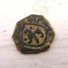 Monedas medievales: 2 MARAVEDIS-CARLOS II (1616) CORUÑA. Lote 124178011